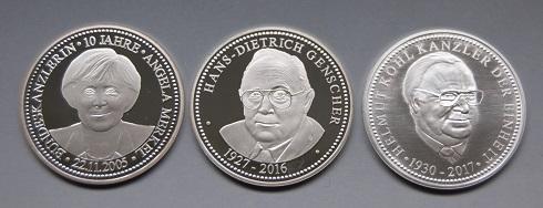 Staatliche Münze Berlin Ehrt Helmut Kohl Den Kanzler Der Deutschen