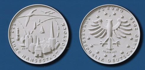 Zwanzig Euro Münze Aus Silber Erscheint 2018 Zur
